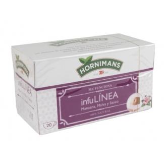 Te Hornimans infulinea manzana malva y sauco 20 bolsas