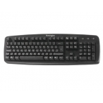 Teclado value Kensington color negro 480x175x40 mm tecnología usb