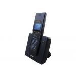 Teléfono inalámbrico Daewoo color negro pantalla y teclas retroiluminada ident llamadas alcance 300m