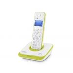 Teléfono inalámbrico spc Telecom color verde identificador de llamadas agenda pantalla
