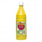 Jovi 51102 - Témpera líquida, color amarillo claro, bote de 1.000 ml