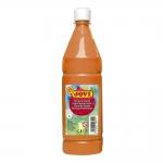 Tempera liquida Jovi escolar 1.000 ml color naranja