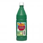 Tempera liquida Jovi escolar 1.000 ml color verde oscuro
