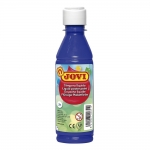 Jovi 50224 - Témpera líquida, color azul ultramar, bote de 250 ml