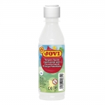 Jovi 50201 - Témpera líquida, color blanco, bote de 250 ml