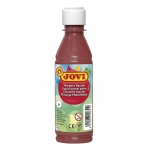 Jovi 50212 - Témpera líquida, color marrón, bote de 250 ml