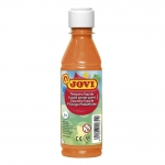 Jovi 50206 - Témpera líquida, color naranja, bote de 250 ml