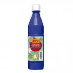 Tempera liquida Jovi escolar 500 ml color azul ultramar