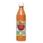 Tempera liquida Jovi escolar 500 ml color naranja