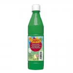 Tempera liquida Jovi escolar 500 ml color verde medio