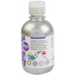 Liderpapel TP47 - Témpera líquida, color plata, bote de 300 ml