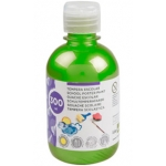 Liderpapel TP52 - Témpera líquida, color verde metalizado, bote de 300 ml