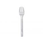 Tenedor de plástico color blanco paquete de 100