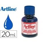 Tinta Artline color azul para rotulador pizarra blanca 500-a frasco de 20 ml