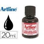 Tinta Artline color negro para rotulador pizarra blanca 500-a frasco de 20 ml