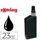 Tinta china Rotring negra frasco de 23 cc