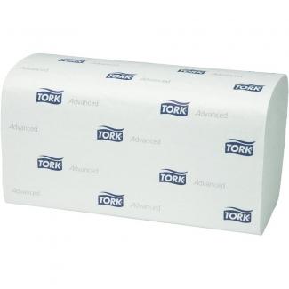 Toalla de papel engarzada 2 capas 21x23,5 cm paquete de 250 unidades para dispensador h3