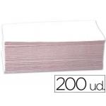Toalla de papel mano engarzada ecológica 23x34 cm paquete con 200 unidades
