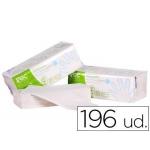 Toalla de papel mano engarzada ecológica xtrasec 20x23 cm 2 capas paquete con 196 unidades