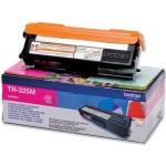 Tóner Brother magenta referencia TN-325M, impresoras HL-4140CN, DCP-9055CDN, MFC-9460CDN