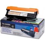 Tóner Brother negro referencia TN-320BK, impresoras HL-4140CN, DCP-9055CDN, MFC-9460CDN