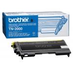 Tóner Brother referencia TN-2000 negro, impresoras HL-2030, HL-2040, HL-2070N