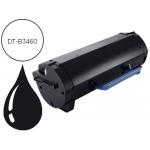 Tóner Dell negro referencia DT-B3460