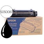 Tóner Epson EPL 6100, EPL referencia 6100L, EPL 5900, EPL 5900L, negro, Ref. S050087 - EPL6200X