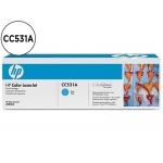Tóner HP 304A referencia CC531A cian