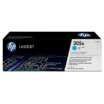 Tóner HP 305A referencia CE411A cian