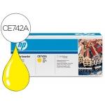 Tóner HP 307A referencia CE742A amarillo