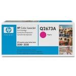 Tóner HP 309A referencia Q2673A magenta