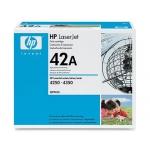 Tóner HP 42A referencia Q5942A negro