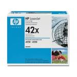 Tóner HP 42X referencia Q5942X negro
