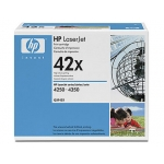 Tóner HP 42X referencia Q5942XD negro