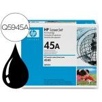 Tóner HP 45A referencia Q5945A negro