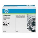 Tóner HP 55X referencia CE255X negro