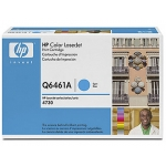 Tóner HP 644A referencia Q6461A cian