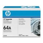 Tóner HP 64A referencia CC364A negro