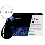 Tóner HP 80A laserjet negro referencia CF280A