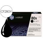 Tóner HP 80X referencia CF280X negro Pack de 2
