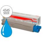 Tóner OKI cyan -2500 páginas- type c9 (43459331) referencia C3300 C3400 C3450