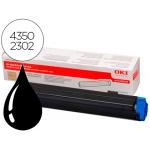 Tóner OKI negro (43502302) referencia B4400 B4600
