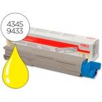 Tóner Oki (43459433) amarillo referencia C3300 C3400 C3450