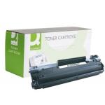 Tóner Q-Connect compatible Hp CB436A laserjet /p1505n/m1120mfp/m1522mfp/mfp 2.000 páginas