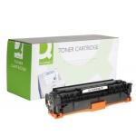 Tóner Q-Connect compatible Hp CC531A para color laserjet cp2520/cm2320 mfp 2.800 páginas