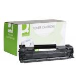Tóner Q-Connect compatible Hp CE285A para laserjet p1102/p1102w/m1212nf mfp/m1217nfw mfp/m1132mfp 1.600 páginas