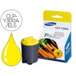 Tóner Samsung amarillo laser referencia CLP-Y300A/ELS, impresoras CLP-300, CLX-2160