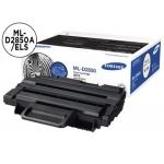 Tóner Samsung negro laser referencia ML-D2850A/ELS, impresoras Ml-2850D, ML-2851ND