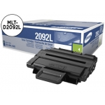 Tóner Samsung negro referencia MLT-D2092L/ELS, impresoras SCX-4824FN, SCX-4828FN, ML-2855ND